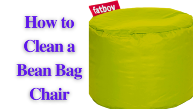 Photo of How to Clean a Bean Bag Chair: Step-By-Step Guide [2021]