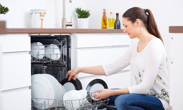 Rinse Your Dishes in The Dishwasher